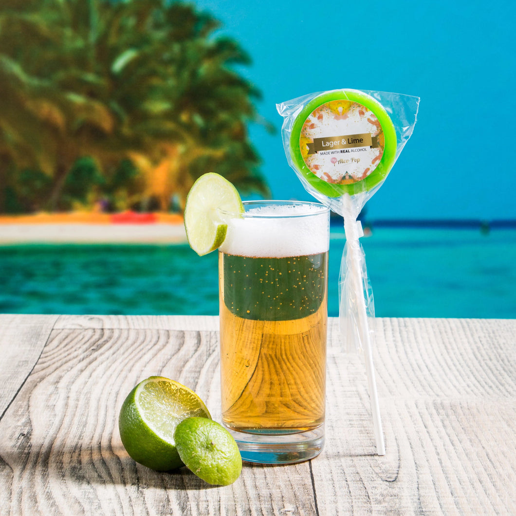 Lager & Lime Lollipop