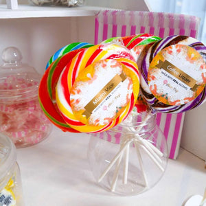 Miami Vice Swirl Lollipop