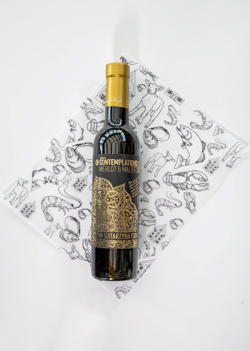 Merlot Malbec ''Contemplations'' 2015 375 ml