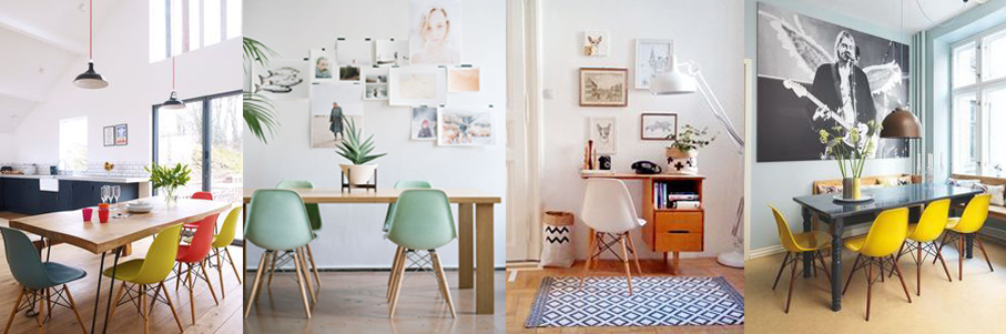 The Charles And Ray Eames Eiffel Chairs
