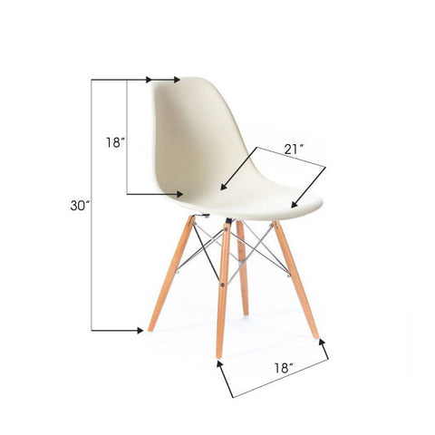 Les Chaises Eiffel Charles And Ray Eames