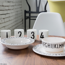 Load image into Gallery viewer, Design Letters Melamine Children's Plate