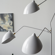 Load image into Gallery viewer, Serge Mouille Three-Arm Floor Lamp