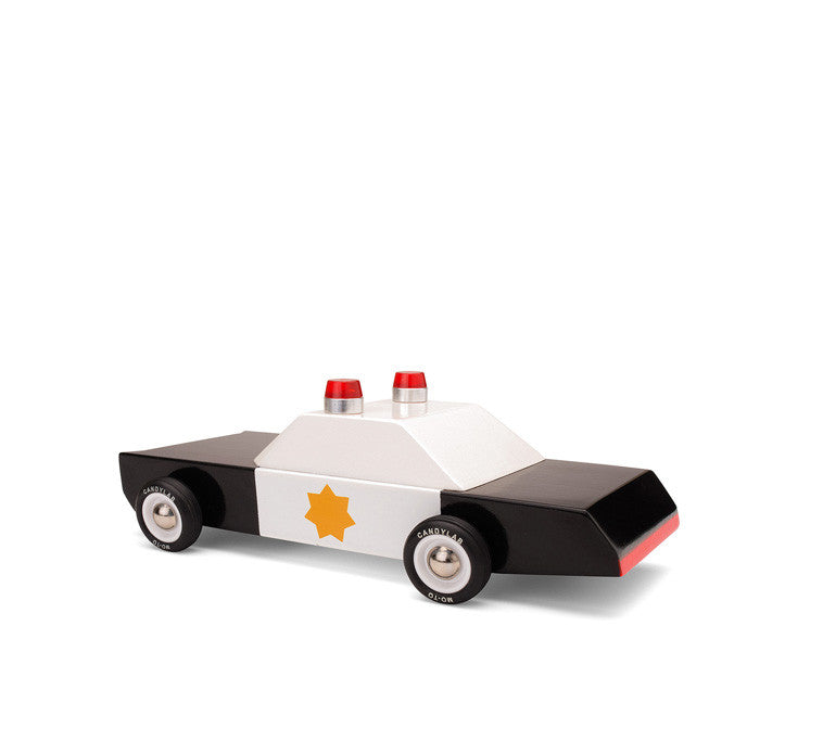 Automobile de police miniature