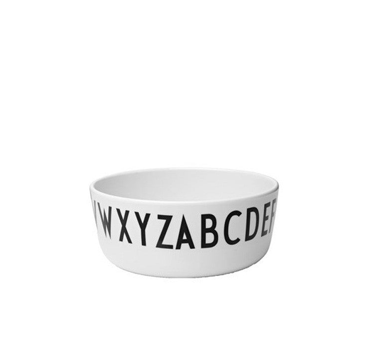 Design Letters Melamine Children's Bowl