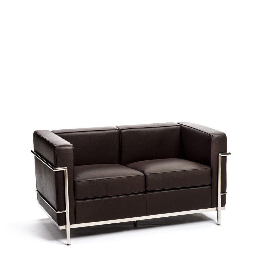 LC2 Loveseat in Chocolate