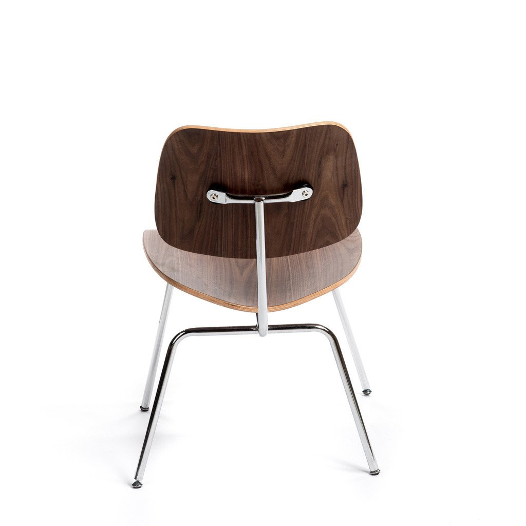 DCW lounge chair metal legs Eames fauteuil lounge