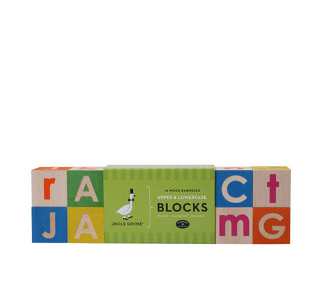 Alphabet Factory Blocks