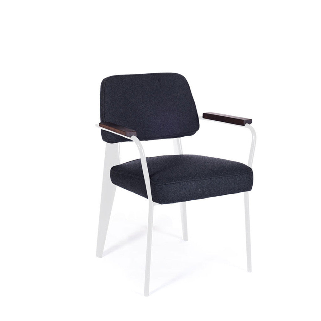 chaise standard jean prouvé accoudoir chair armchair