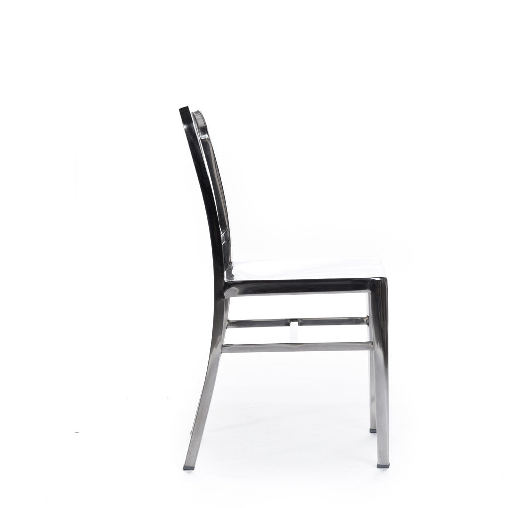 Navy chair Emeco chaise aluminium