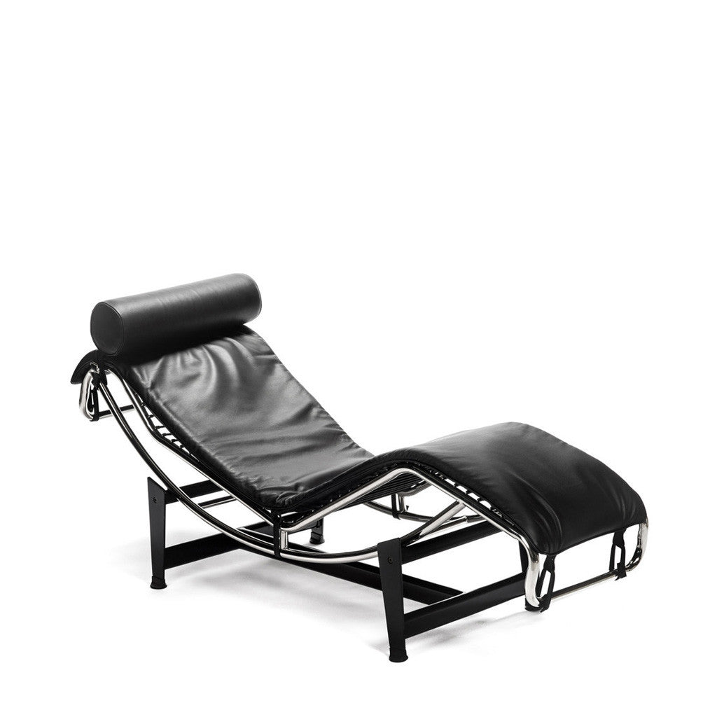 ... LC4 Le Corbusier Lounge Chair Chaise Longue Cuir Leather ...