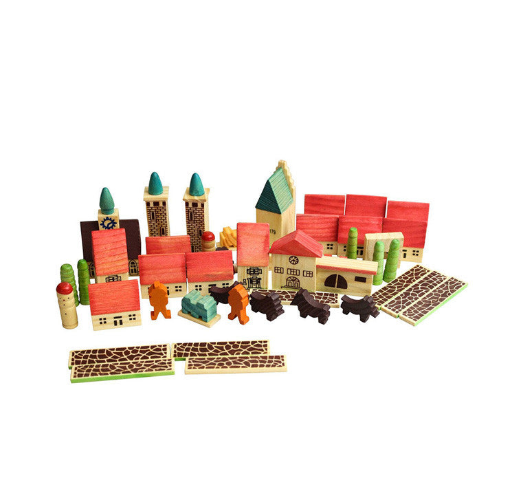 Village In a Bag Playset