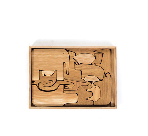 WPP Forest Jungle Puzzle