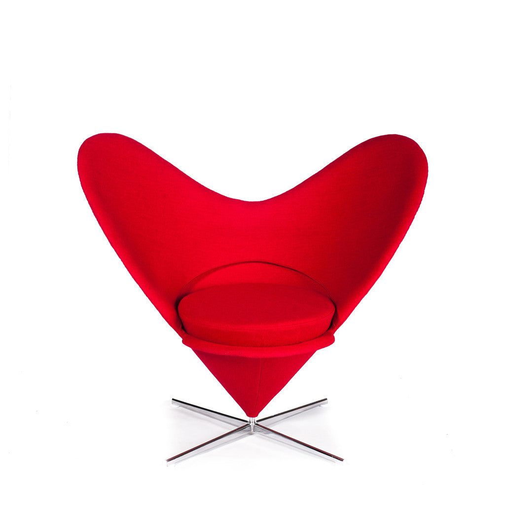 Heart Cone Chair pantone lounge chair fauteuil