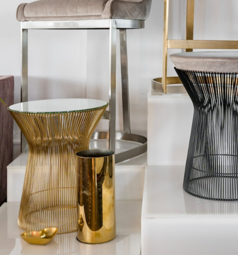 Table d'appoint Platner