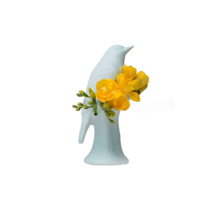 PORCELAIN VASE - BIRD