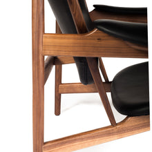 Load image into Gallery viewer, chieftain lounge chair cuir leather fauteuil finn Juhl
