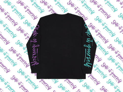 Double Skate It Yourself Longsleeve Tee