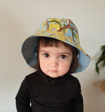 Load image into Gallery viewer, 'May Gibbs Wattle Babies' Bucket Kid Sun Hat
