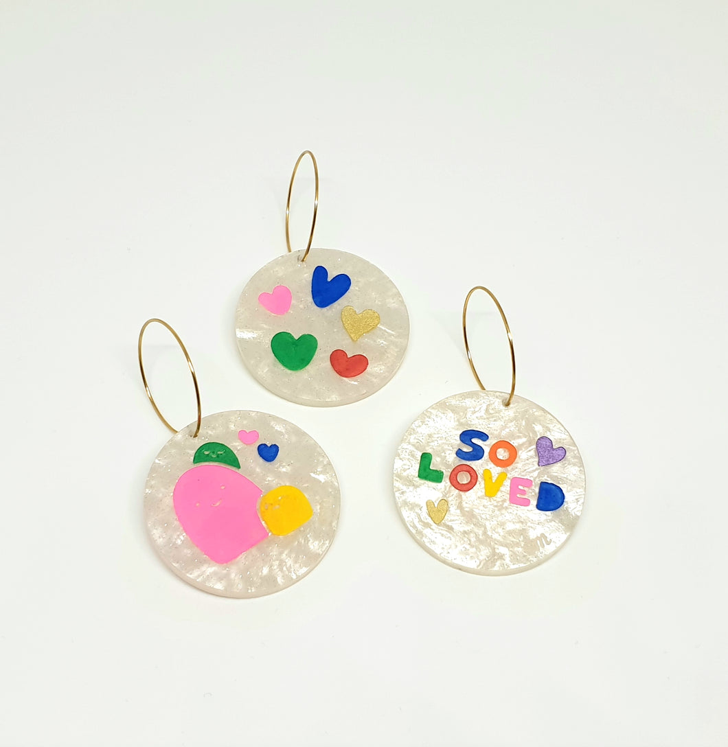 'So Loved' Earrings Set