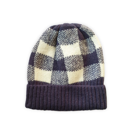 'Check It Out' Cotton Beanie