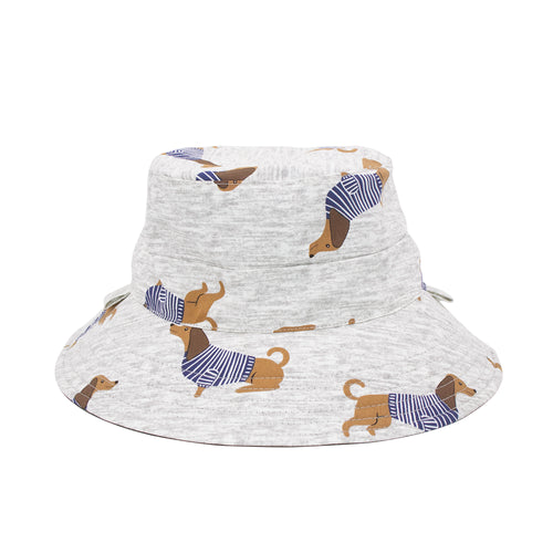 'Dashing Dachshunds' Bucket Sun Hat