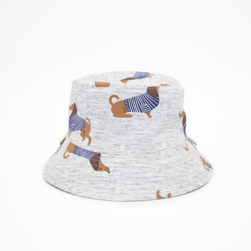 'Dashing Dachshund' Kid Bucket Hat