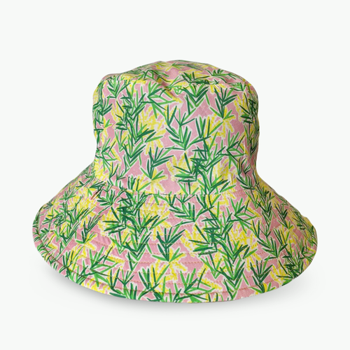 'Marni Stuart's Coastal Wattle' Broadbrim Hat