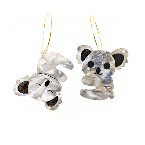 Koala Acrylic Earrings
