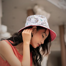 Load image into Gallery viewer, 'Sloth Around' Bucket Hat
