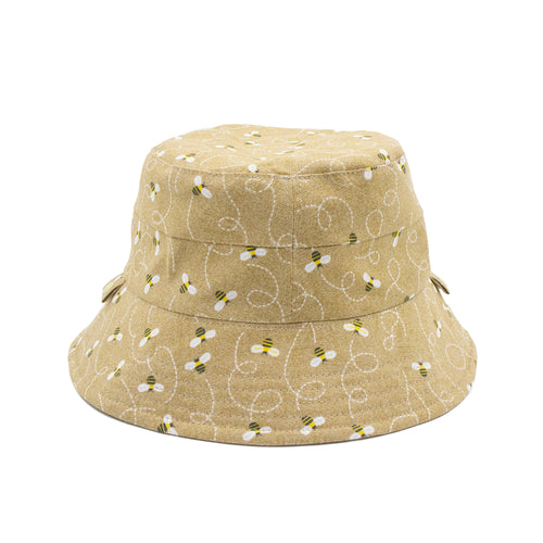 'Humble Bumblebee' Kid Bucket Hat