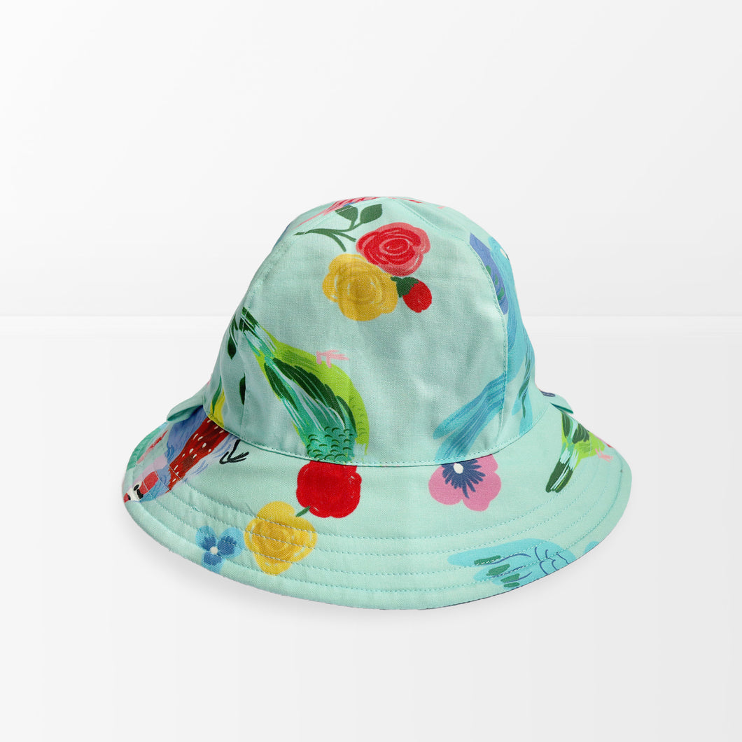 'Birds of Paradise' Kid Floppy Hat
