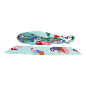 'Birds of Paradise' 2-in-1 Elastic Headband