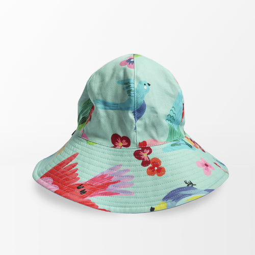 'Birds of Paradise' Floppy Hat