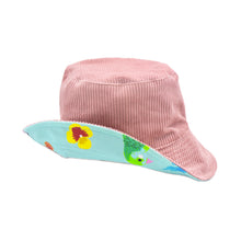 Load image into Gallery viewer, 'Birds of Paradise' Corduroy Bucket Hat