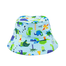 Load image into Gallery viewer, 'Dino' Kid Bucket Hat