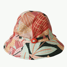 Load image into Gallery viewer, 'Autumn Leaves' Kid Floppy Hat