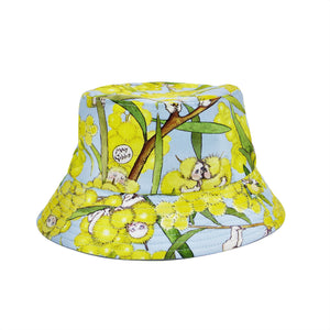 'May Gibbs Wattle Babies' Bucket Kid Sun Hat