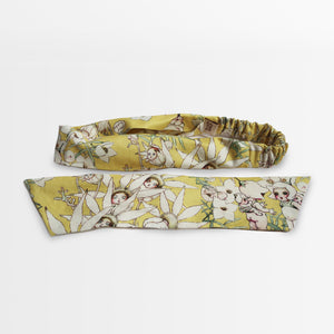 'May Gibbs Flannel Flowers Babies' 2-in-1 Headband