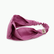 Load image into Gallery viewer, Pure Linen Twist Headband (Lotus Pink)