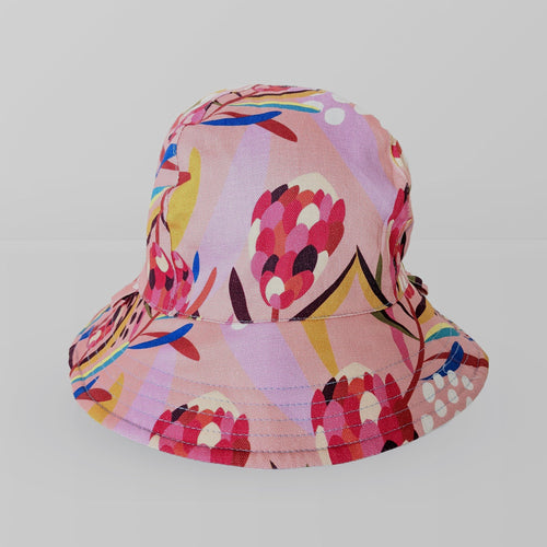 'Abstract Protea' Kid Floppy Hat