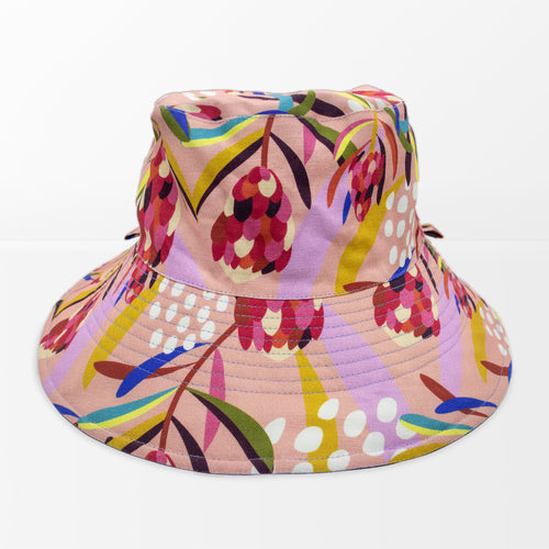 'Abstract Protea' Broadbrim Hat