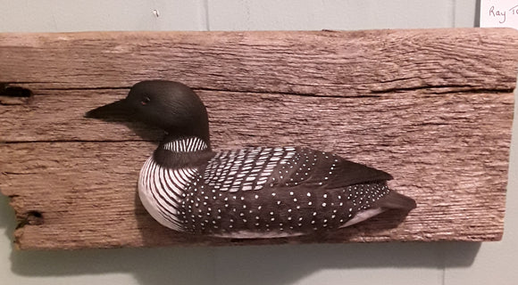 Hand-crafted Loon