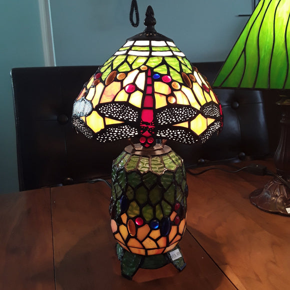 Stained Glass Lamp #SG25