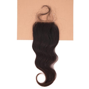 Raw Indian Wavy Closure - Two-One-Fifth Co.