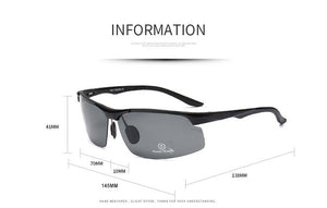 2020 Aluminum Magnesium Men Polarized Sports Driving Night Vision Frames - LUXE215