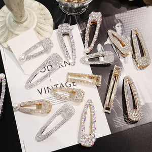 New Arrival Shiny Crystal Rhinestones Hair Clip - Two-One-Fifth Co.