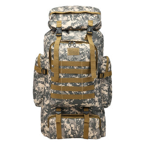 Large Outdoor Camoflauge Mountaineering Backpack - LUXE215