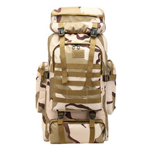 Load image into Gallery viewer, Large Outdoor Camoflauge Mountaineering Backpack - LUXE215