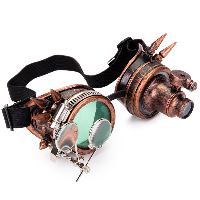 Retro Steampunk Unisex Goggles - Two-One-Fifth Co.